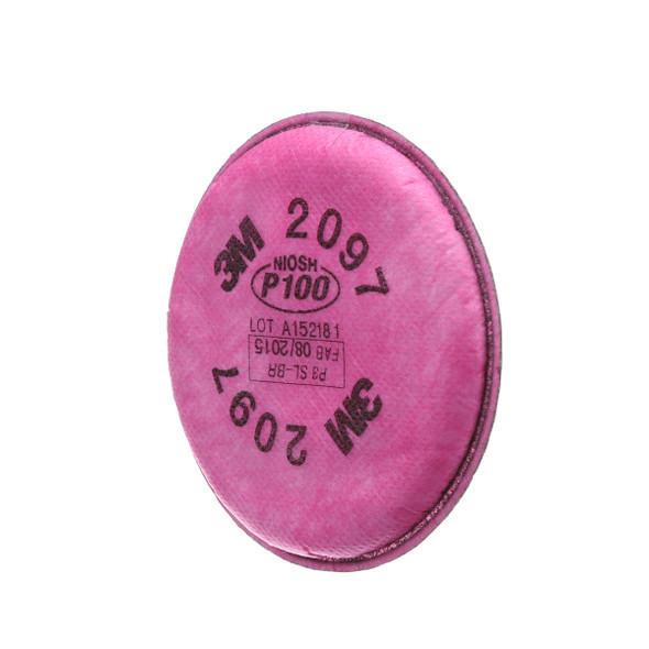 3M 2097 Particulate Filter w/ Nuisance Level Organic Vapour Relief P100 Respiratory Protection