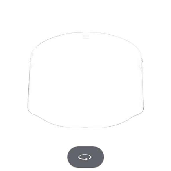 3M 82701-00000 CLEAR FACESHIELD W96