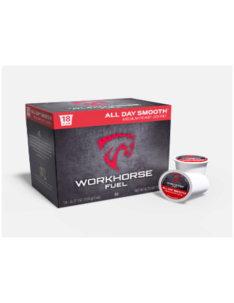 OXX WHCSD18 CoffeeBoxx Workhorse Fuel Coffee - Smooth K-Cup