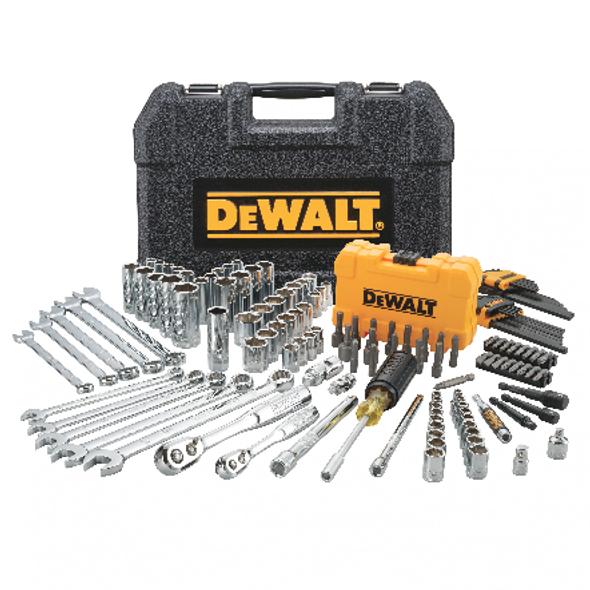 "Dewalt DWMT73802 142 pc. 1/4"" & 3/8"" Drive Mechanics Tool Set"