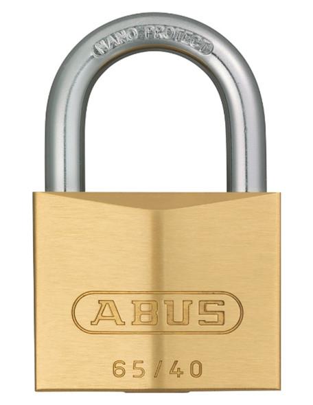 Abus 65-40KD Padlock Brass - Keyed Different