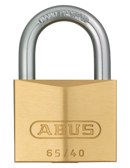 Abus 65-40KA Padlock Brass - Keyed Alike