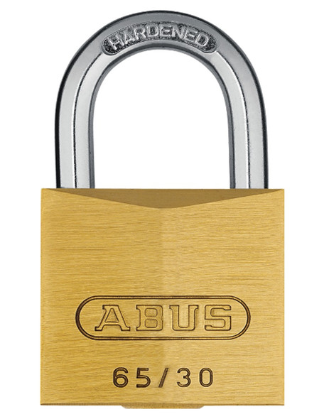 Abus 65-30KD Padlock Brass - Keyed Different