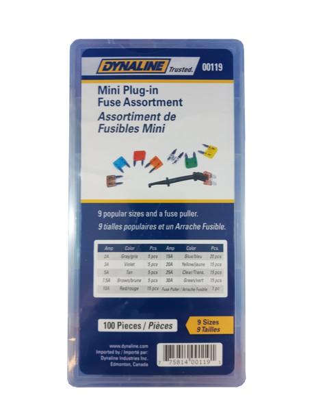 Dynaline 00119 Assortment Mini Fuse Plugs