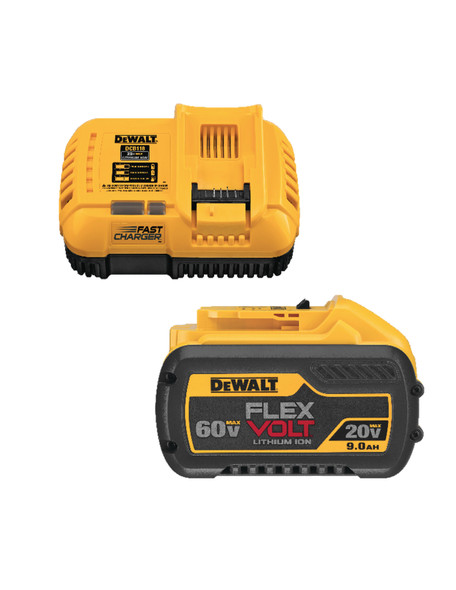 Dewalt DCB118X1 FLEXVOLT 20Volt/60Volt Battery Pack W/Charger