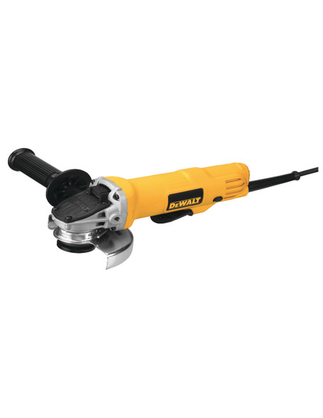 "Dewalt 4-1/2"" 7.0AMP Paddle Switch Small Angle Grinder"