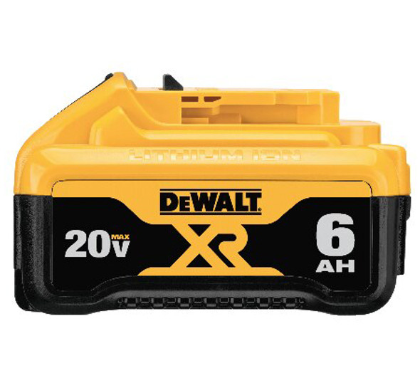 Dewalt 20V Premium XR 6.0AH Lithium Ion Battery