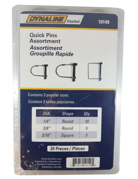 Dynaline 10149 Quick Pin Assortment