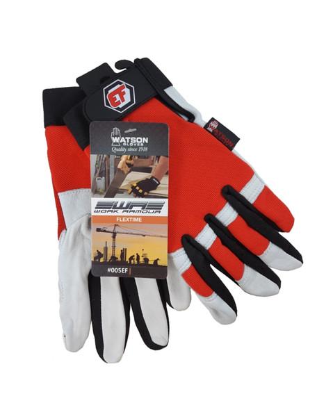 Watson Gloves 005EF Flextime Leather Work Glove - Unlined