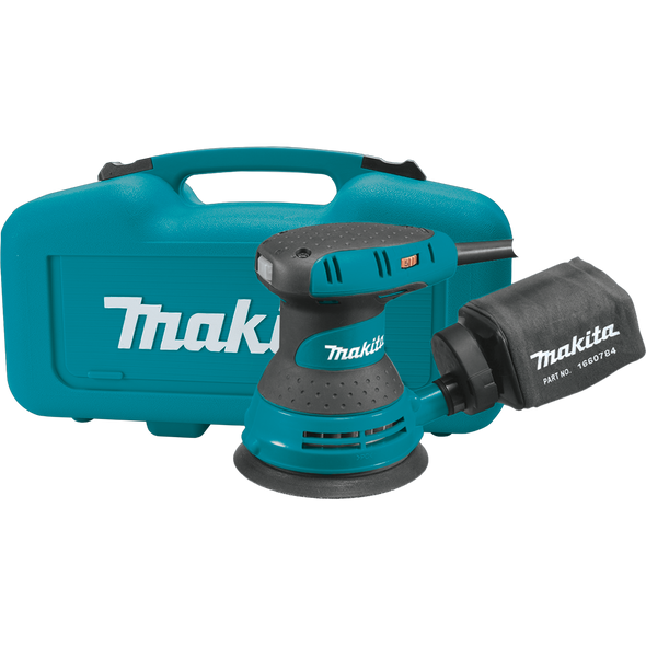 "Makita 5"" Random Orbit Sander, variable speed, with Tool Case ( BO5031K )"