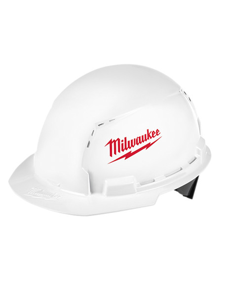 Milwaukee 48-73-1020 Full Brim Vented Hard Hat W/BOLT Accessory System – Type 1 Class C (SM Logo)