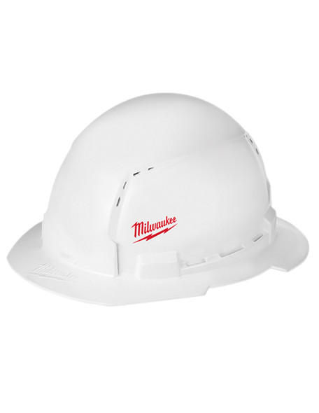 Milwaukee 48-73-1011 Full Brim Vented Hard Hat W/BOLT Accessory System – Type 1 Class C
