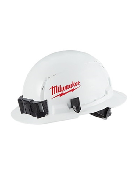 Milwaukee 48-73-1010 Full Brim Vented Hard Hat W/BOLT Accessory System – Type 1 Class C