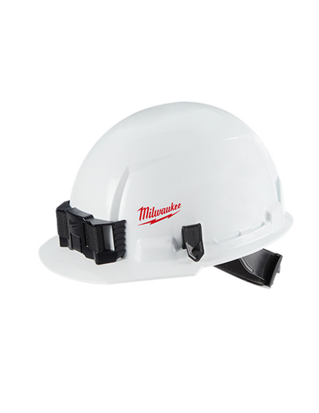 Milwaukee 48-73-1001 Front Brim Vented Hard Hat W/BOLT Accessory System – Type 1 Class C (SM Logo) - 4PK