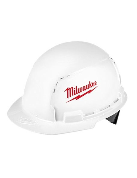 Milwaukee 48-73-1000 Front Brim Vented Hard Hat W/BOLT Accessory System – Type 1 Class C-4PK