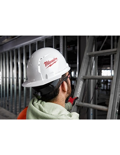 Front Brim Hard Hat with BOLT Accessories Type 1 Class C Vented