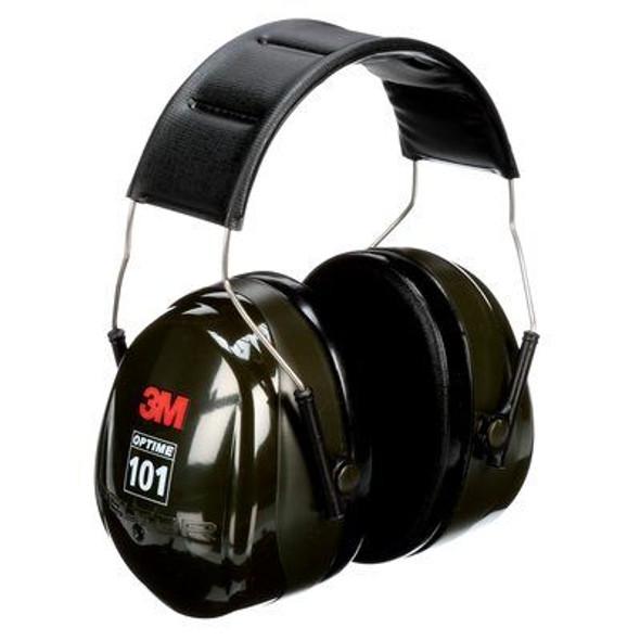 3M H7A Peltor Optime 101 Over-The-Head Earmuffs