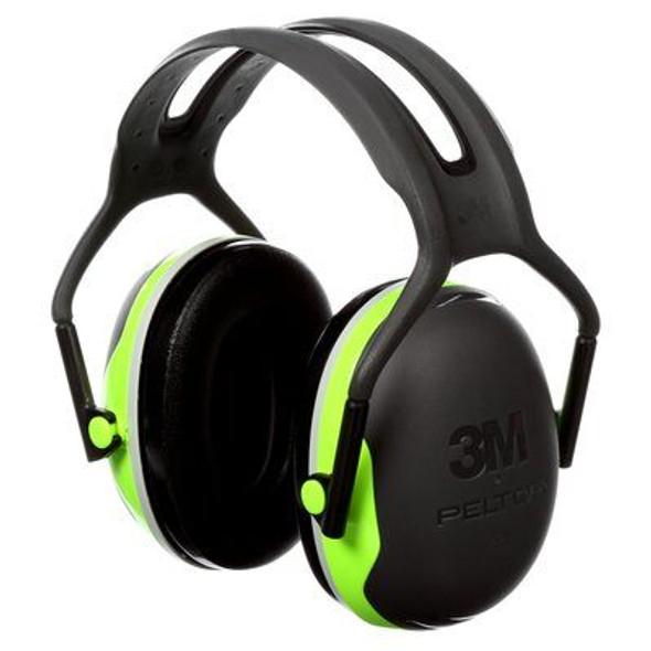 3M PELTOR X Series Earmuffs, Over-The-Headband NRR27