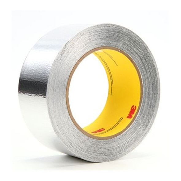 """3M 425-1 Aluminium Foil Tape 425, Silver, 1"""" x 60 YD, 4.6 mil"""