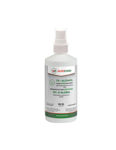 70% Alcohol Liquid HAND SANITIZER - 350ml Spray