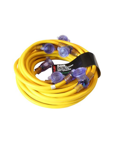 Century Wire & Cable D12421050 50ft 12/3 STW Pro Cap Covered Power Distribution Cord 600V