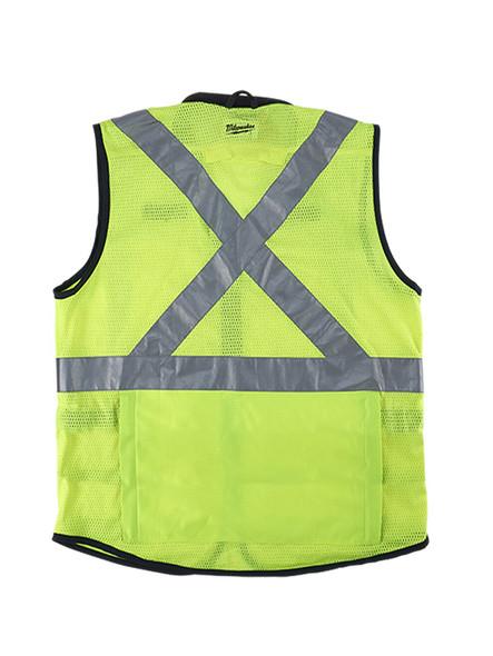 High Viz Performance Safety Vest YLW