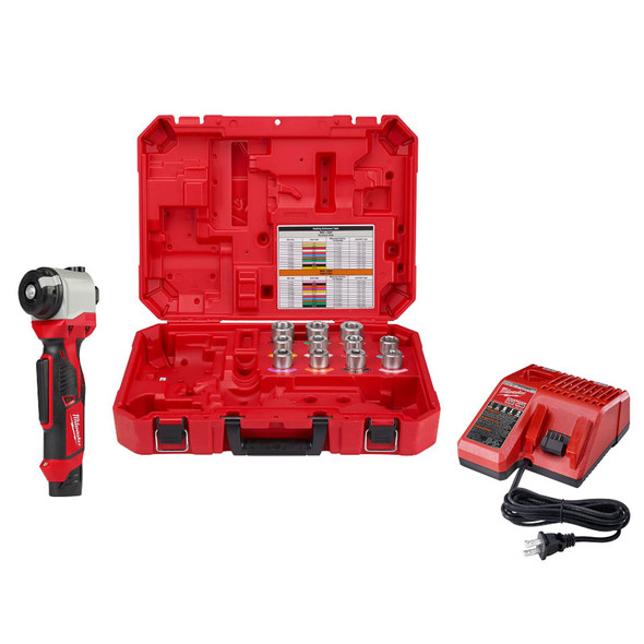 Milwaukee 2435CU-21 M12 Cable Stripper Kit for Cu THHN / XHHW (MIL2435CU-21)