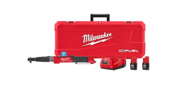 "Milwaukee 2466-20 M12 Fuel 1/2"" Digital Torque Wrench with ONE-KEY Kit"