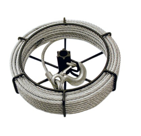 Jet 1-1/2 Ton 66′ Cable Assembly For Wire Grip Pullers