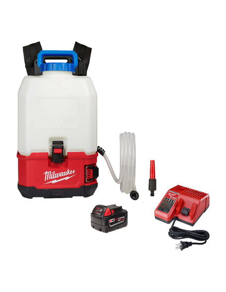 Milwaukee M18 Switch Tank 4-Gallon Backpack Water Supply Kit