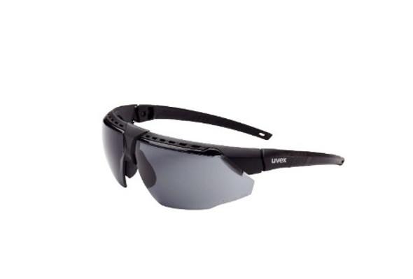 Honeywell Uvex Avatar Protective Eyewear - Black Frame, Grey Lens