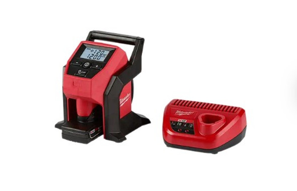 Milwaukee M12 Compact Inflator  & Charger
