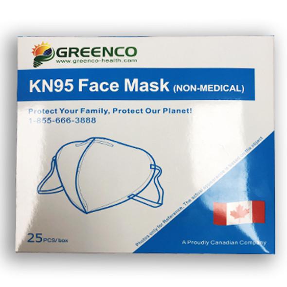 KN95 Disposable Face Masks 25PK