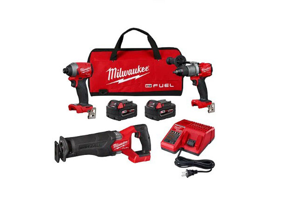 Milwaukee M18 Fuel 3-Piece Combo Kit