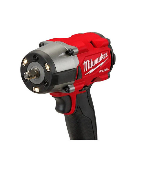 """Milwaukee M18 Fuel 3/8"""" Mid-Torque Impact Wrench LED lights"""