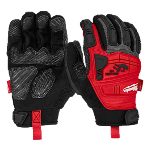 Impact Demolition Gloves (Front & Back View)