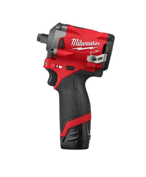 "Milwaukee M12 Fuel 1/2"" Stubby Impact Wrench"