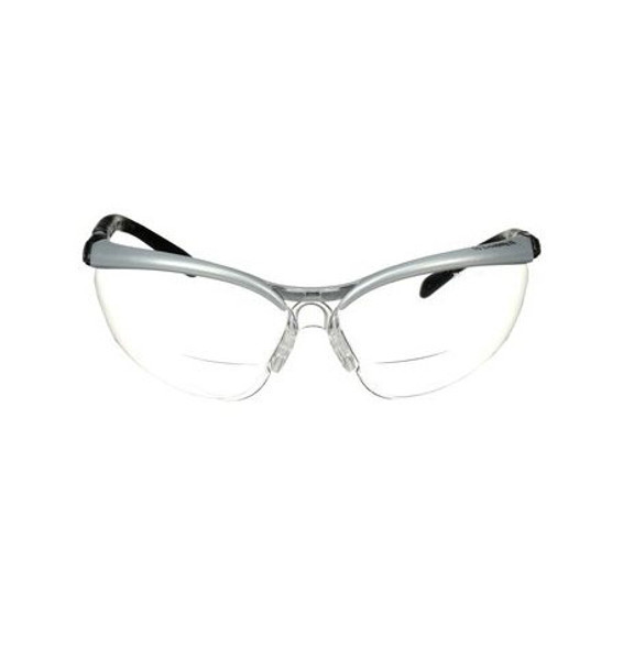 3M BX +2.0 Reader Protective Eyewear - Clear