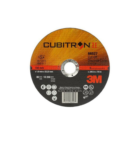 3M Cubitron II 66527 Cut-off Wheel