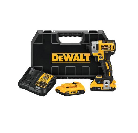 Dewalt 20V MAX XR Brushless Tool Connect Impact Driver Kit