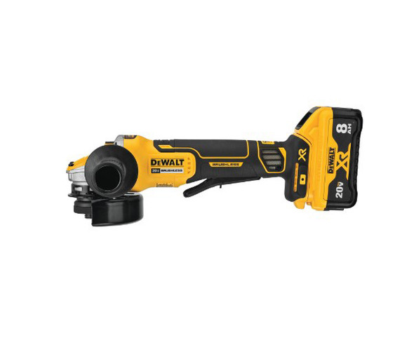 "Dewalt 20V MAX XR Brushless 4 1/2"" - 5"" Angle Grinder with Power Detect Tool Technology"