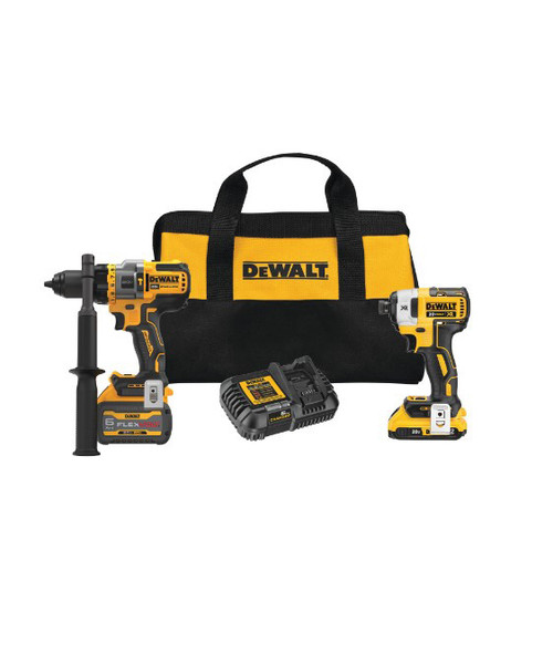 Dewalt 20V MAX Brushless Cordless Hammer Drill and Impact Driver Kit