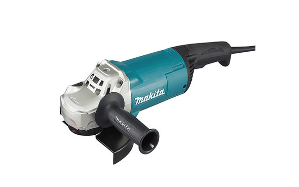 """Makita Grinder employs a motor winding protection features """"Zig-Zag"""" varnish on the armature and hardened powder on the field coils to act as an impenetrable barrier to dust and debris."""