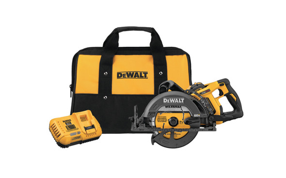 60V MAX 7-1/4 in. Cordless Worm Drive Saw 9.0Ah Battery Kit