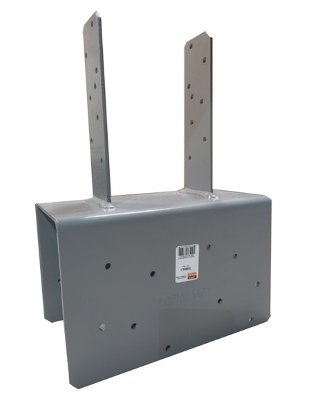 Provides a greater net section area of the column compared to bolts.