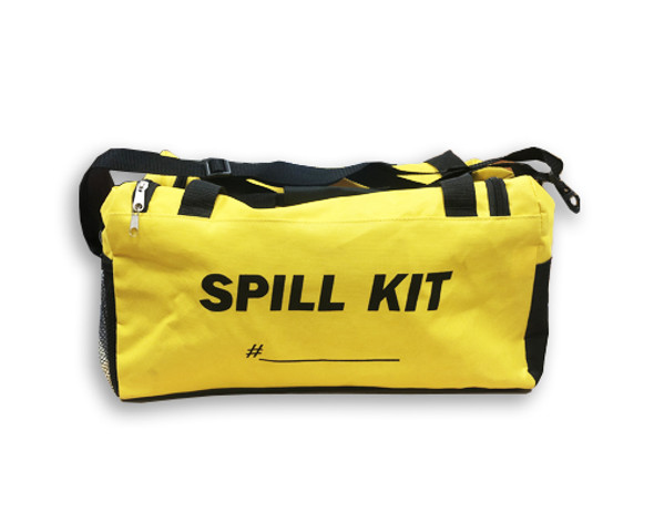 These kits can be used for a wide variety of spill applications, from a small leak or drip from a transport trailer, to a large spill at a shipping and receiving facility, to a large-scale oil spill on water.