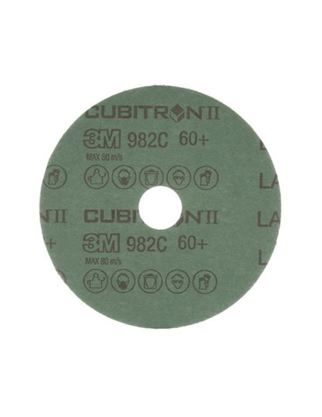 These discs lasts up to two times longer than other ceramic abrasives— wears evenly, runs cool and optimizes mineral breakdown.