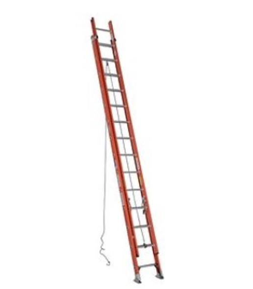 Werner 28ft Type IA Fiberglass D-Rung Extension Ladder