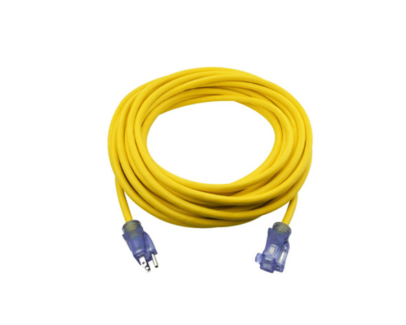 50ft 12/3 SJTW Jobsite Outdoor Extension Cord (Without package)