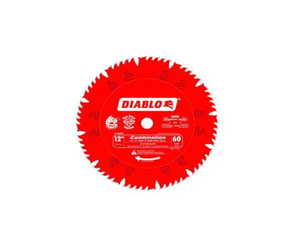 """12"""" x 60 Tooth Combination Saw Blade"""